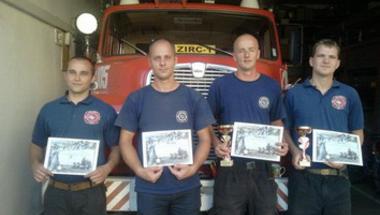 Zirci tűzoltók szakmai megmérettetésen