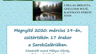 Zirci amatőr fotósok kiállítása -  Víz a természetben címmel - 2020.03.19.
