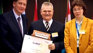 Zirci lett az első magyar LeaDeR kitüntett Brüsszelben