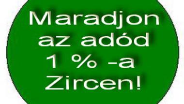 Kinek adjuk az adónk 1%-át Zircen 2013-ban?