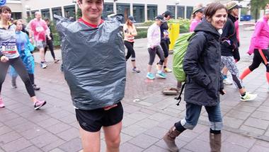Félmaraton egy kis olimpiával fűszerezve