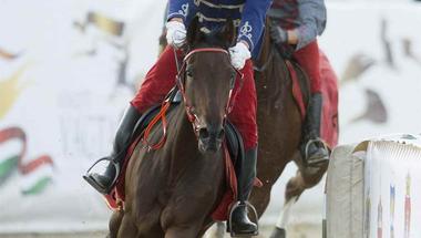 Baja lovasa nyerte az idei Nemzeti Vágtát
