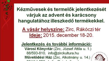 Karácsonyi VÁSÁR Zircen