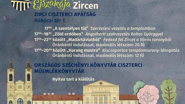 Múzeumok Éjszakája 2018 Zirc - Teljes program