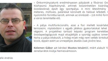 Staféta Kelemen Gáborral