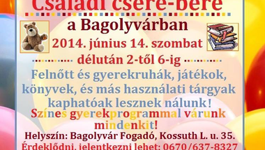 Családi csere-bere      - június 14-én (szombat)