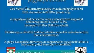 Jégpálya Zircen