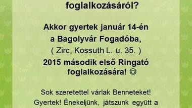 Ringató a Bagolyvárban - 2015. január 14.