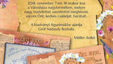 Zirc anno 2019 bemutató november 7-én, szerdán