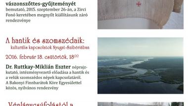 Programok a Reguly Antal Múzeum és Népművészeti Alkotóházban