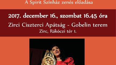Müller Péter: Szeretetkönyv színpadon - a Spirit Színház zenés előadása