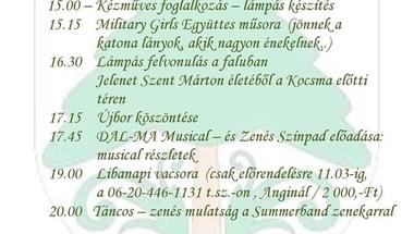 Márton Nap Fenyőfőn - 2017.november 11., szombat