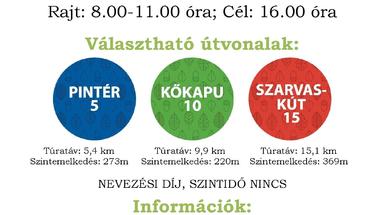 """Zirc30 - """"Tavaszköszöntő"""" túrák"""