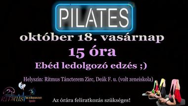 Pilates - ebéd ledolgozó edzés