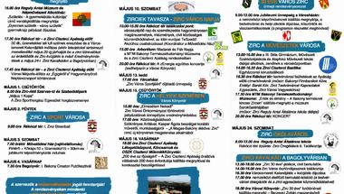 30 éve város Zirc - programok