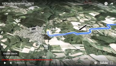 V4 kerékpárverseny - forgalomkorlátozás Zircnél