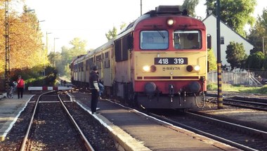 Vonatrablás Magyarország legszebb vasútvonalán