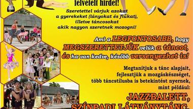 Szeptemberben induló tánc képzések - Zirc