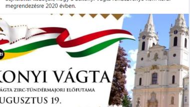 Bakonyi Vágta 2020. - nézők nélkül