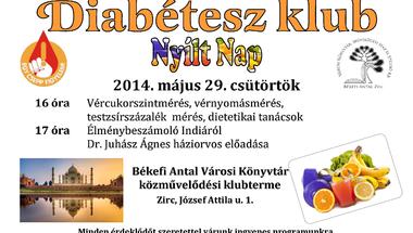Májusi Diabétesz Klub