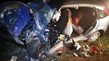 Halálos baleset Bakonypéterdnél - zirci nő az áldozat