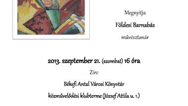"""""""Tündérujjak nyomán"""" című kiállítás megnyitója"""