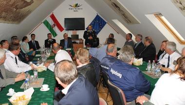 Ülésezett a Veszprémi Járási Közbiztonsági Egyeztető Fórum
