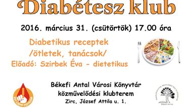 Márciusi Diabétesz Klub