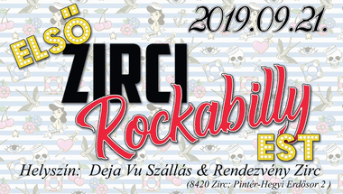 Rockabilly est - Zirc, 2019.09.21.
