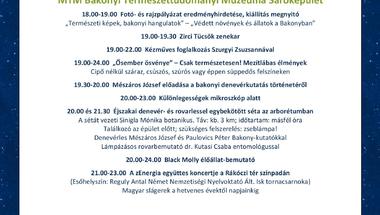 Múzeumok Éjszakája - összes zirci program - 2016.06.25.