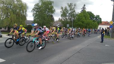 A Tour de Hongrie áthaladt Zircen