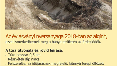 Pulai alginit geotúra MTM Bakonyi Természettudományi Múzeuma