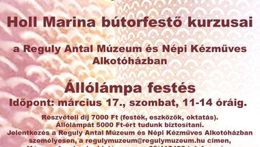 Múzeumi program - bútorfestő tanfolyam