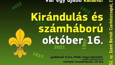 Kirándulás és számháború - 2021.október 16.