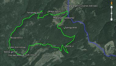 Fél évtizede festünk turistautakat Erdővidéken