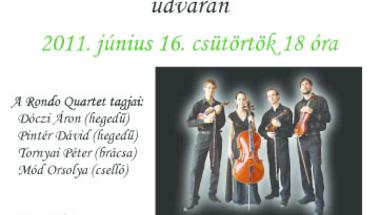 Rondo Quartet koncert