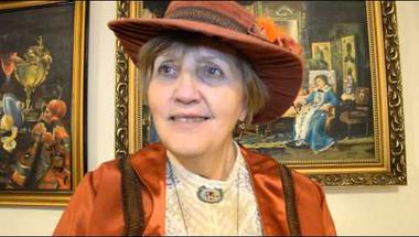 Turi Mária kiállítása a Bagolyvárban