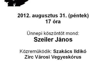Zirc város Bányásznapi megemlékezése