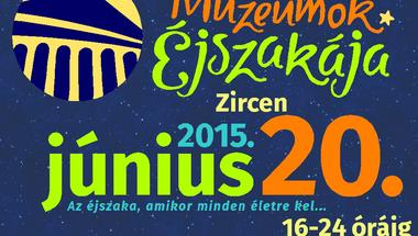 Teljes városi program - Múzeumok Éjszakája, június 20.