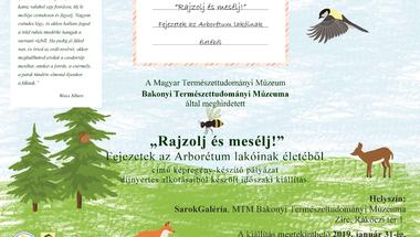 """""""Rajzolj és mesélj"""" - MTM Bakonyi Természettudományi Múzeuma időszaki kiállítás"""