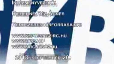 Zirci TV műsora 2013. szeptember 20-24.
