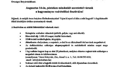 """""""Bakonyi Betyárok Bográcsos Erőpróbája"""""""