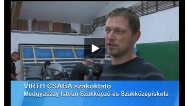Eredményesen szerepeltek a tetőfedő világbajnokságon a zirci szakoktató tanítványai