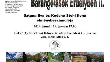 Barangolások Erdélyben II.