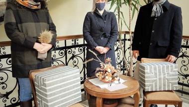 Az idősek otthonát segítik a járvány elleni küzdelemben