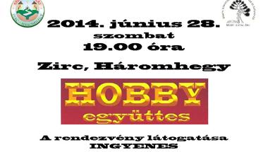 HOBBY Együttes a Szomszédoláson