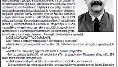 Hátraarc - az önkormányzati választások negyedszázada Zircen. 7. rész - 2002