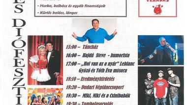 Körte- és Diófesztivál - 2018. szeptember 29., szombat, Dudar