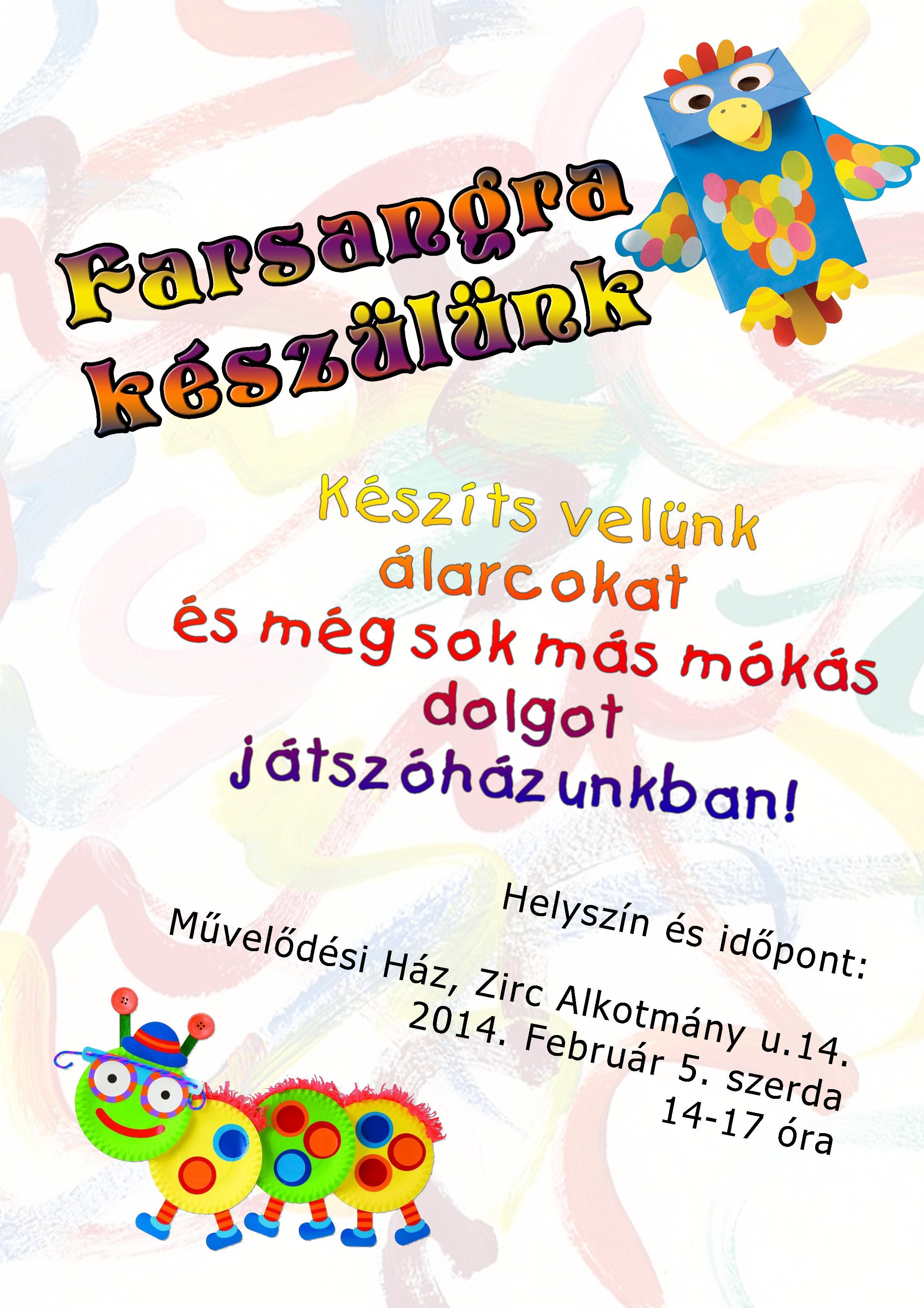 Farsangi játszóház plakát 2014feb5.jpg