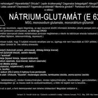 NÁTRIUM-GLUTAMÁT